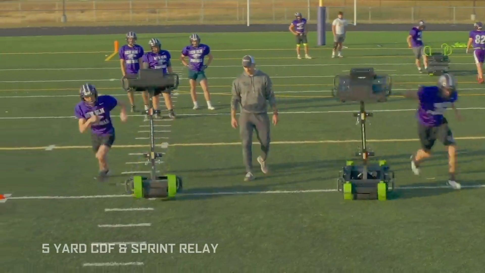 5 Yard CDF & Sprint Relay