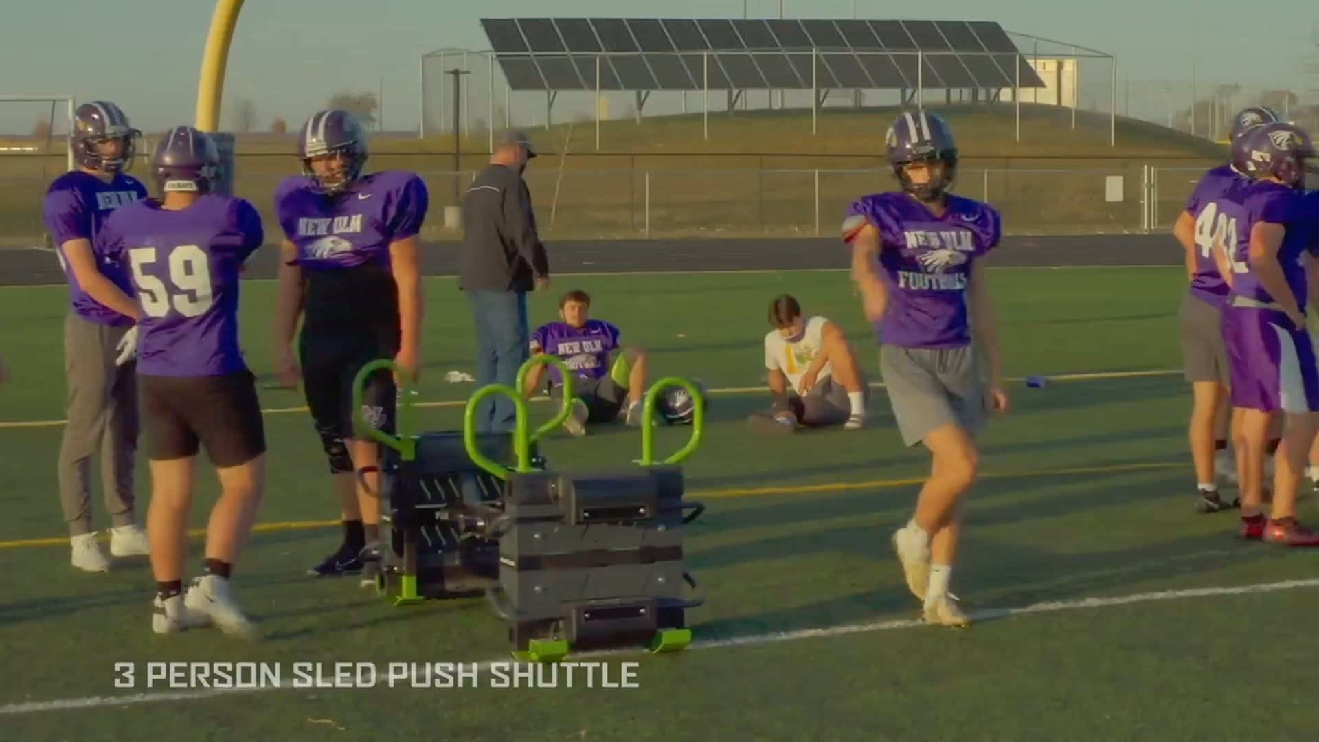 3 Person Sled Push Shuttle