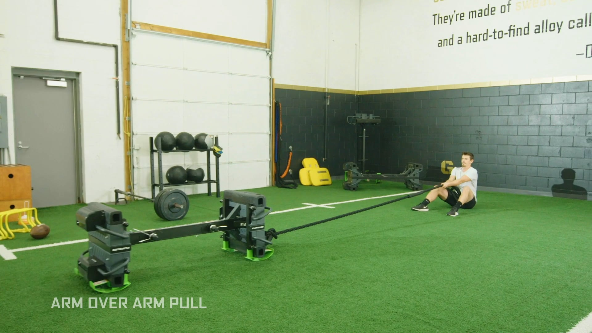 Arm Over Arm Pull