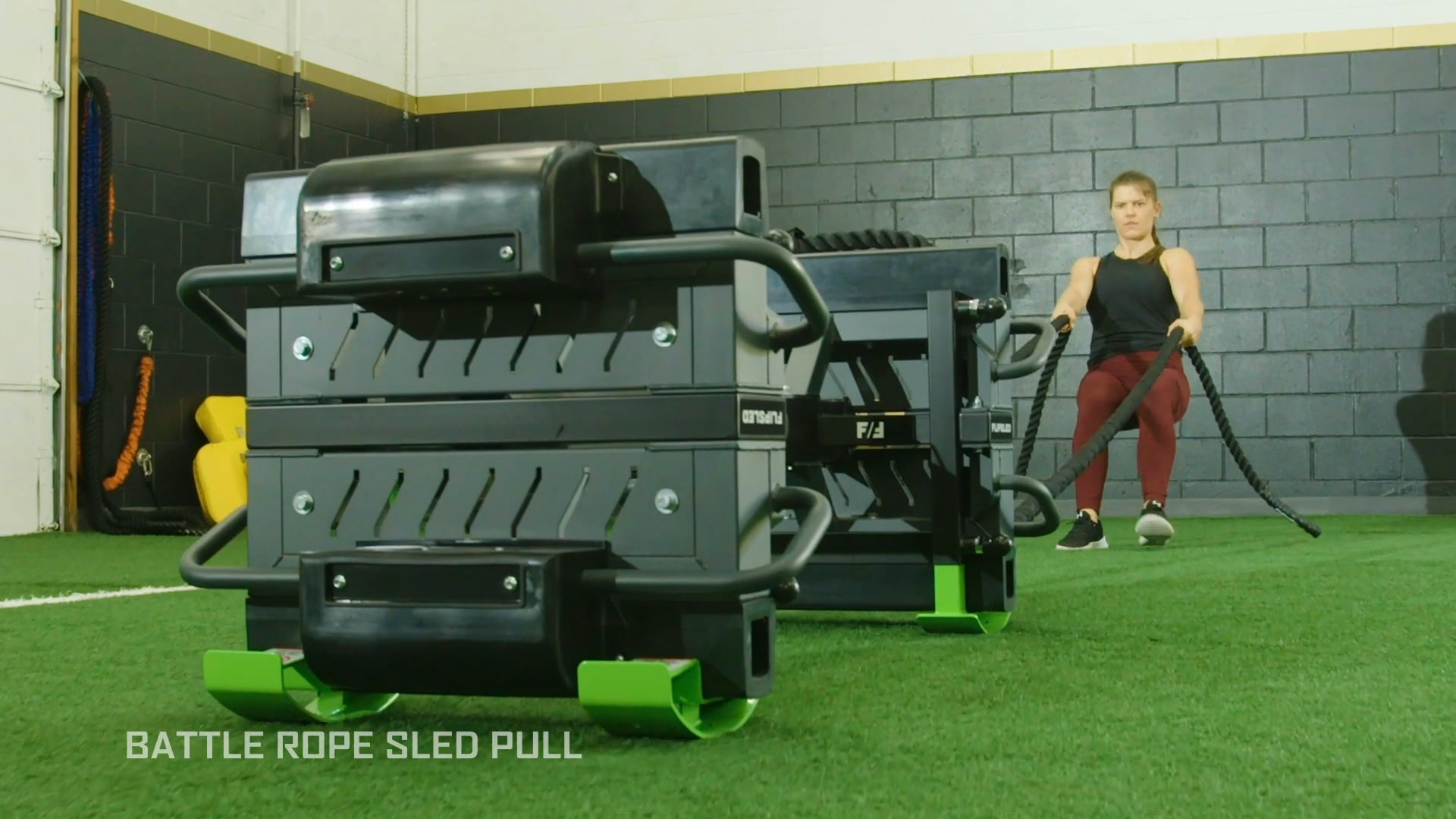 Battle Rope Sled Pull