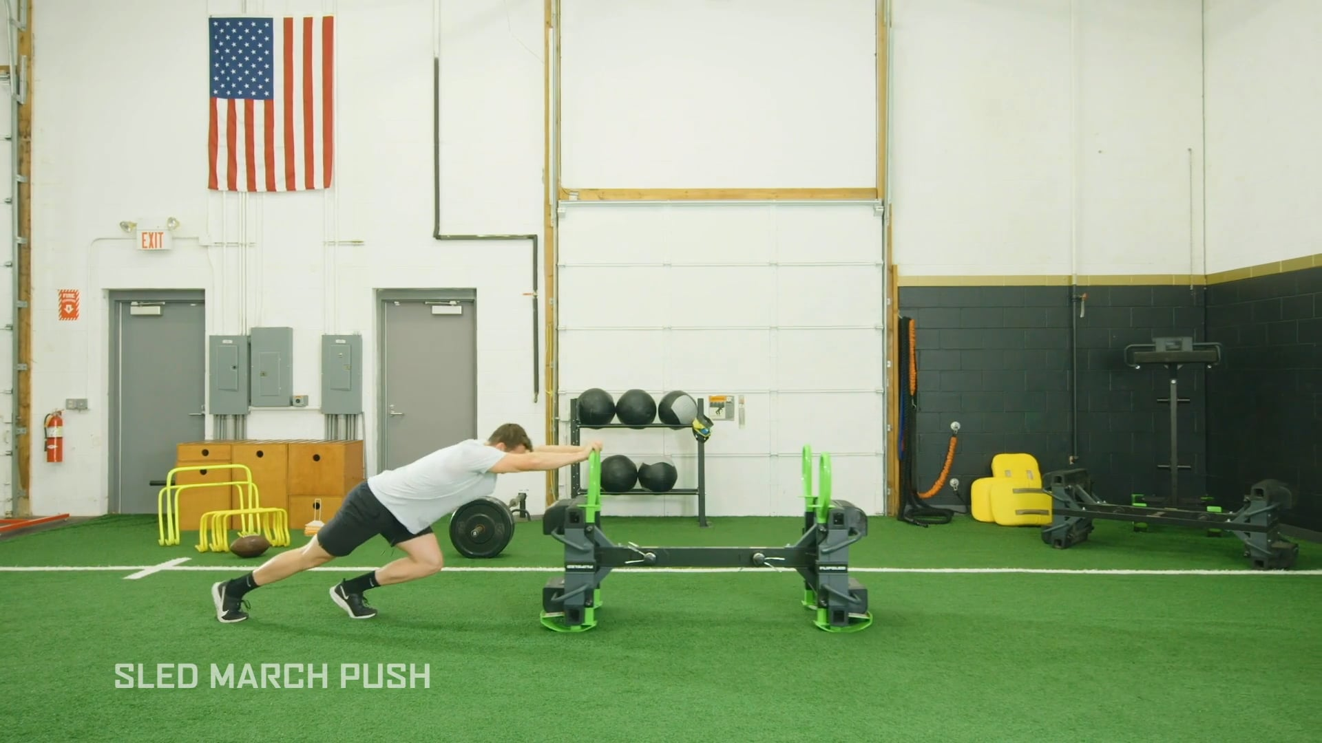 Sled March Push